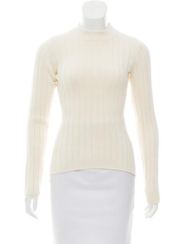 MM6 by Maison Martin Margiela Knit Cut-Out Sweater w/ Tags None