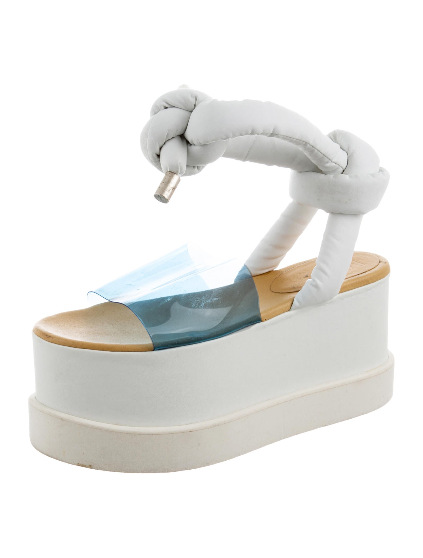 MM6 Maison Margiela MM6 by Maison Martin Margiela PVC Wedge Sandals outlet 2014 new collections cheap online choice online pLUOwMKe