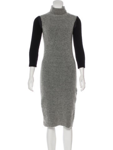 MM6 by Maison Martin Margiela Layered Midi Dress None