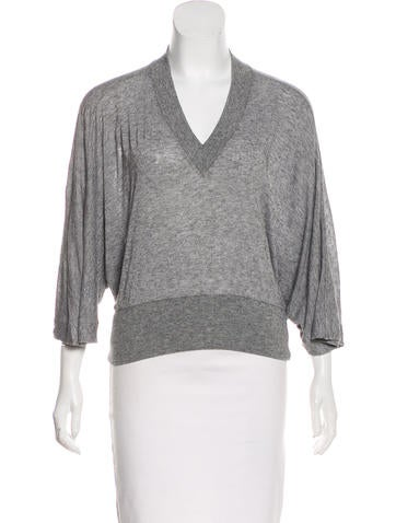 MM6 by Maison Martin Margiela Wool-Blend Top None