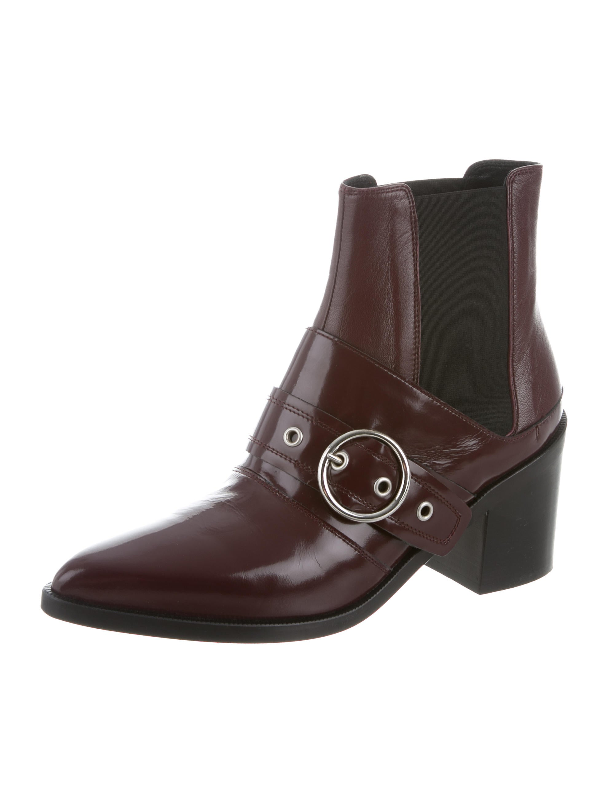 MM6 Maison Margiela MM6 Maison Martin Margiela Buckle-Accented Ankle Boots w/ Tags finishline cheap price cheap sale big discount clearance store sale online free shipping best sale comfortable sale online tUKU3M