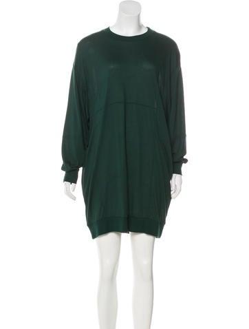 MM6 Maison Martin Margiela Jersey Mini Dress None