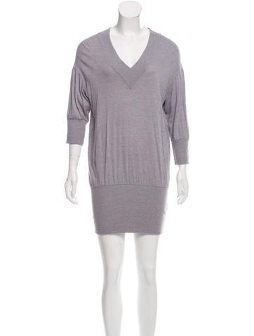 MM6 Maison Martin Margiela Knit Mini Dress None