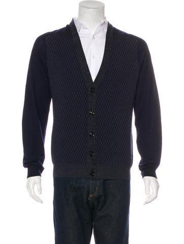 Maison Martin Margiela Wool V-Neck Cardigan None