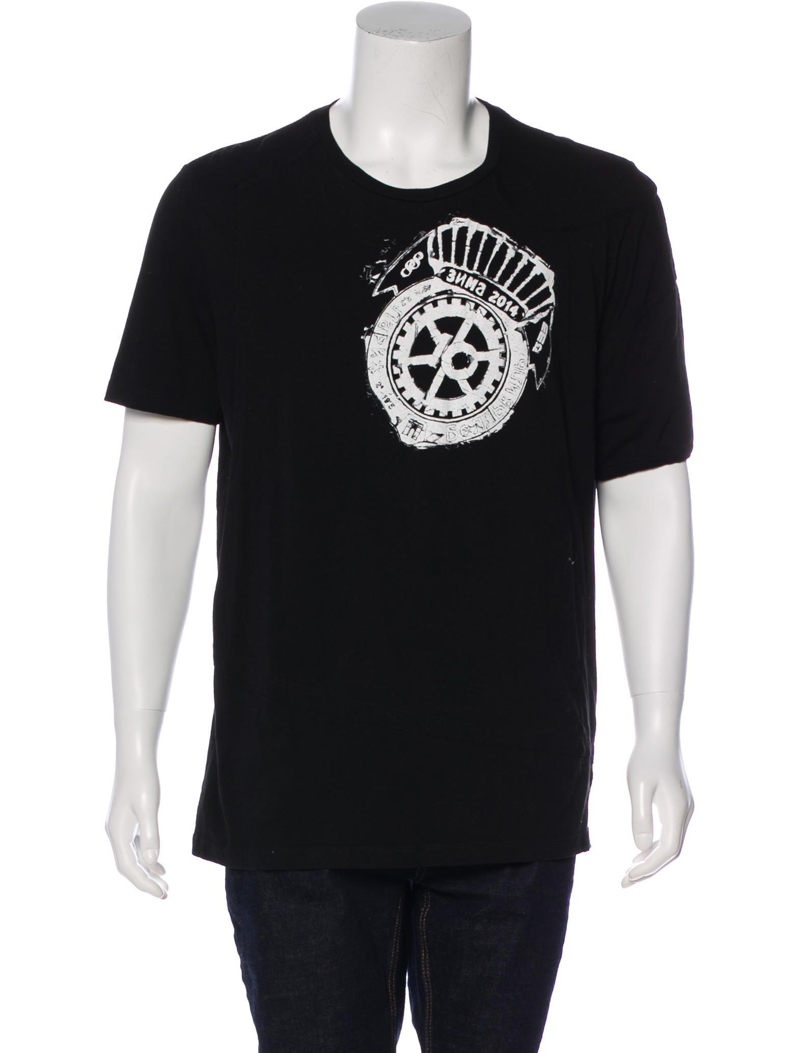 4ef12b9aff70 Maison Martin Margiela Graphic Short Sleeve T-Shirt - Clothing ...