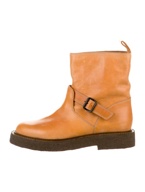 Maison Martin Margiela Leather Engineer Boots oran
