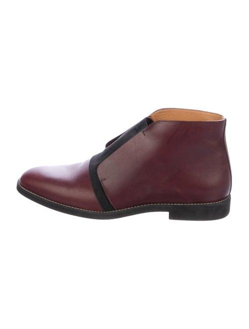 Maison Martin Margiela Leather Ankle Boots
