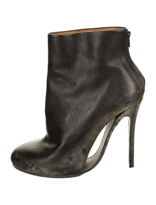 Maison Martin Margiela Leather Boots Black