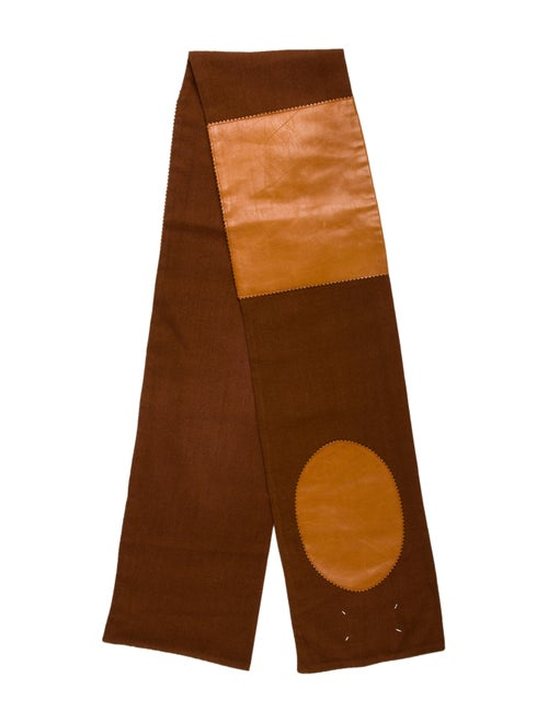 Maison Martin Margiela Vintage 2000's Scarf Brown