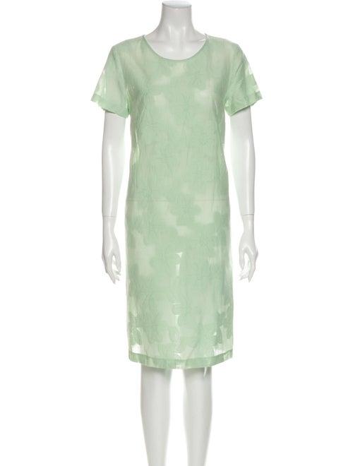 Max Mara Studio Tie-Dye Print Knee-Length Dress Gr