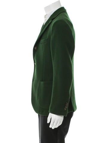 Montedoro Giacco Wool Blazer - Clothing