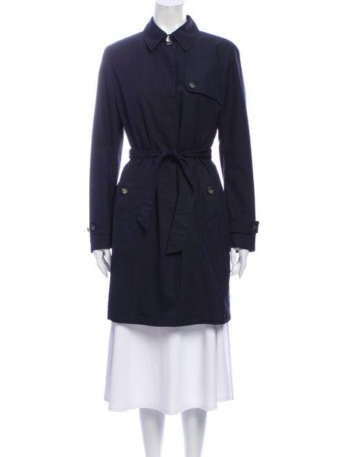 Montedoro Trench Coat Blue