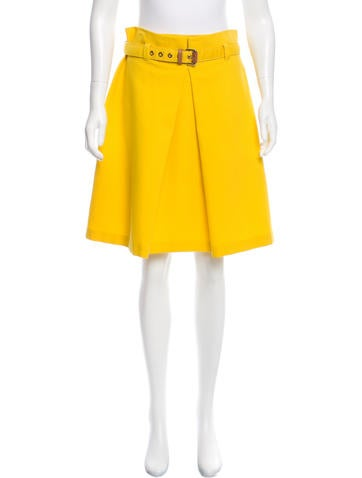 moschino cheap and chic pleated a line skirt w tags