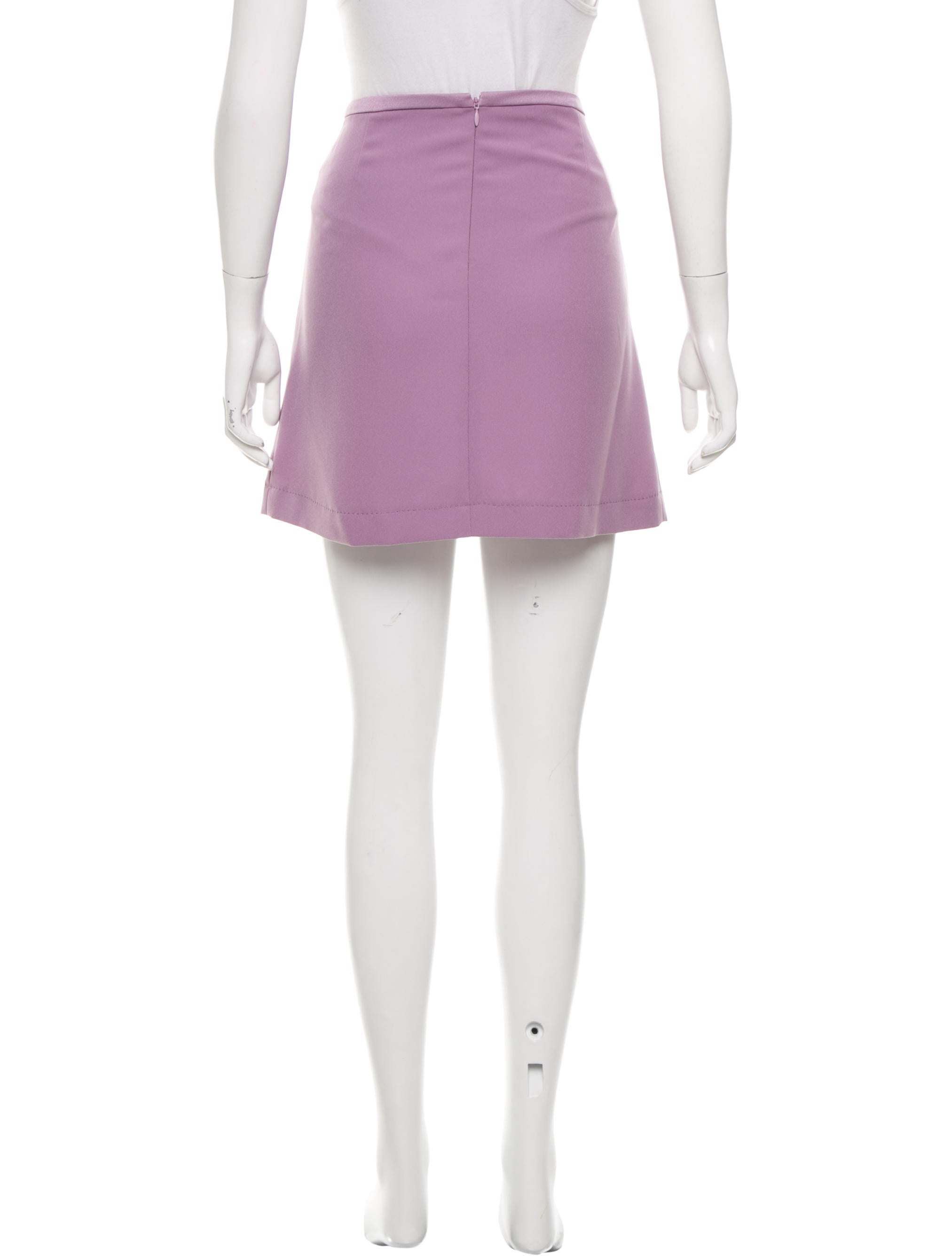 moschino cheap and chic a line mini skirt clothing
