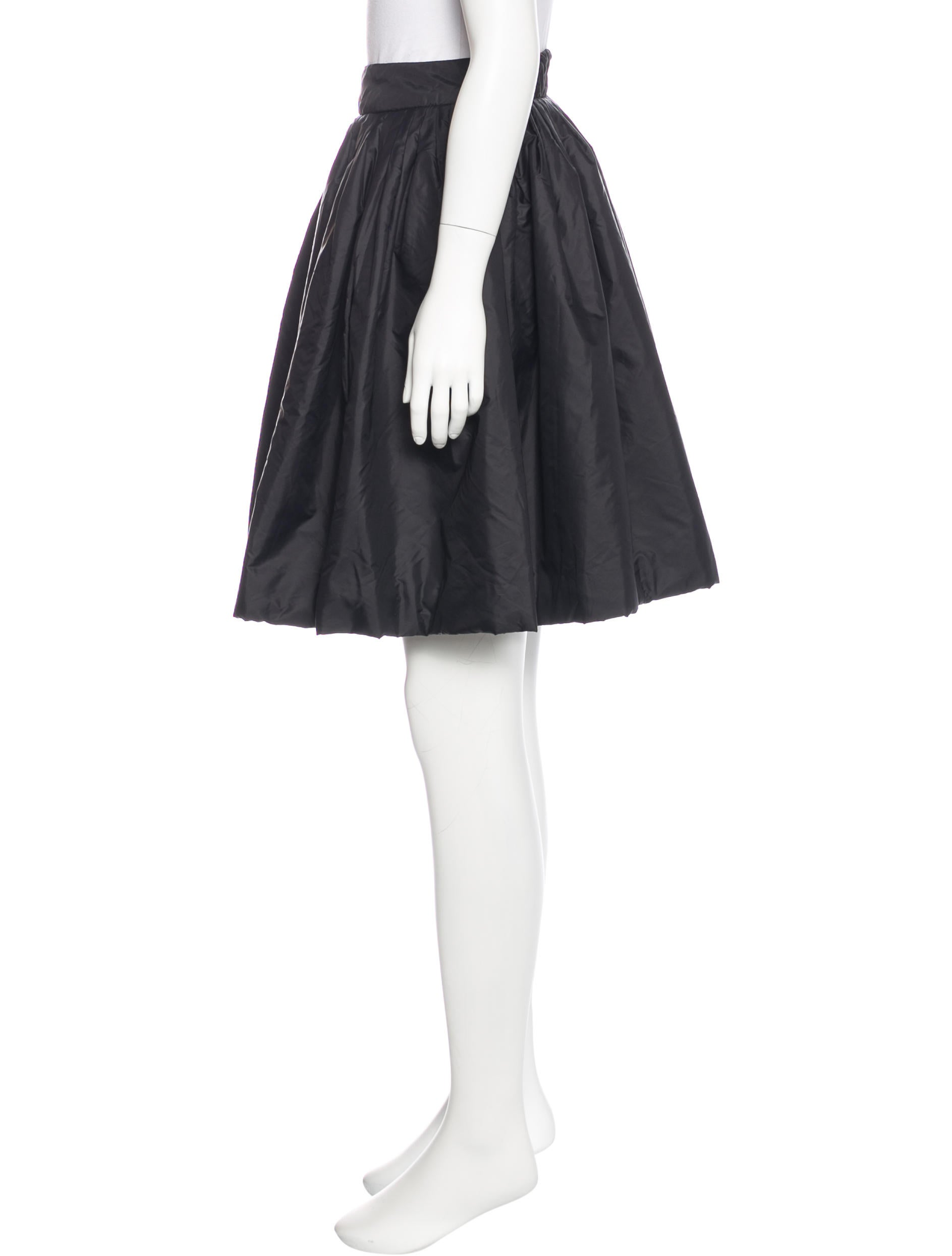 moschino cheap and chic padded a line skirt clothing