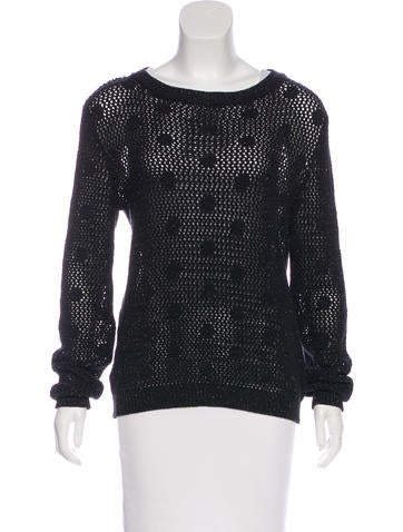 Moschino Cheap and Chic Polka Dot Knit Sweater w/ Tags None