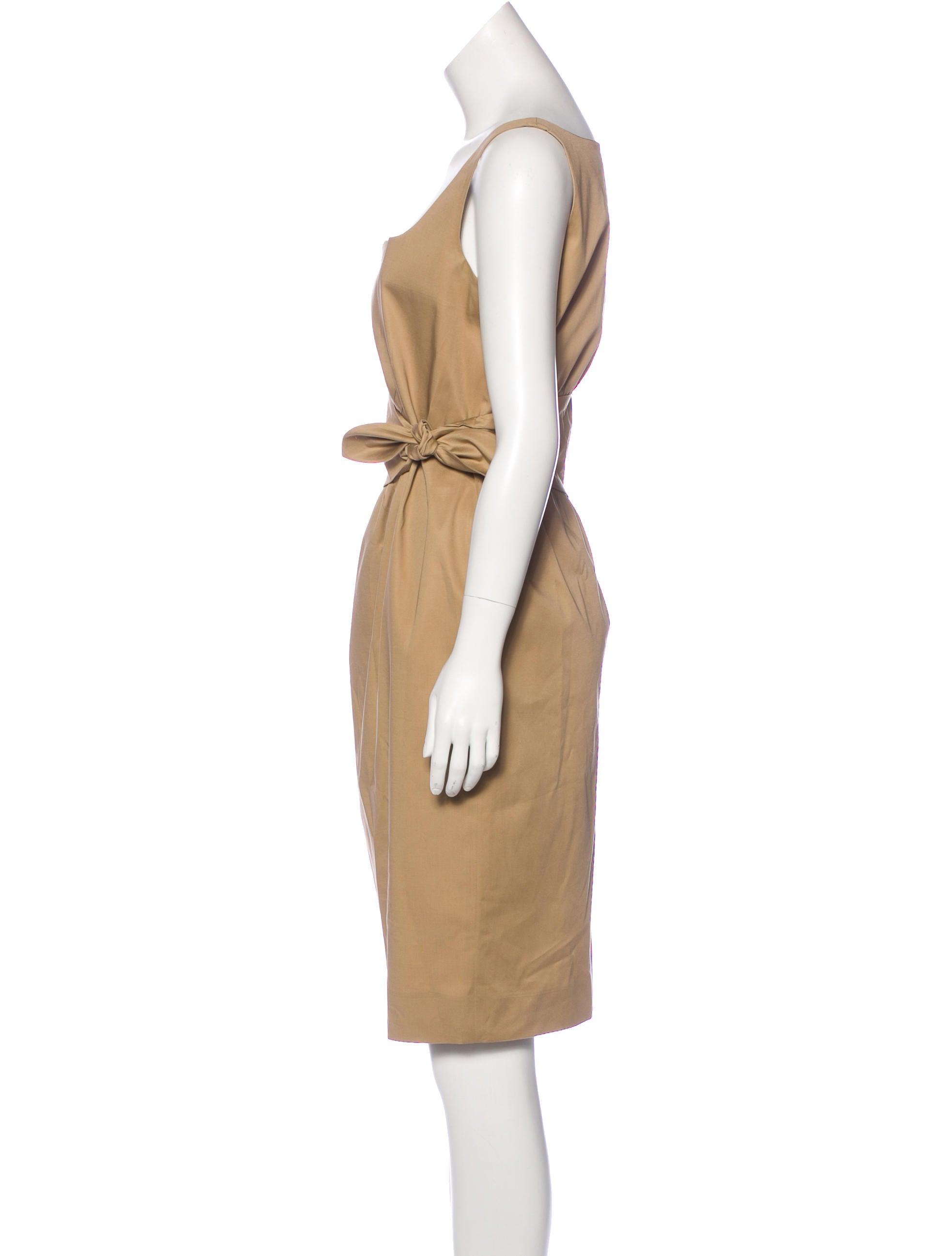 Moschino Cheap And Chic Sleeveless Knee Length Dress