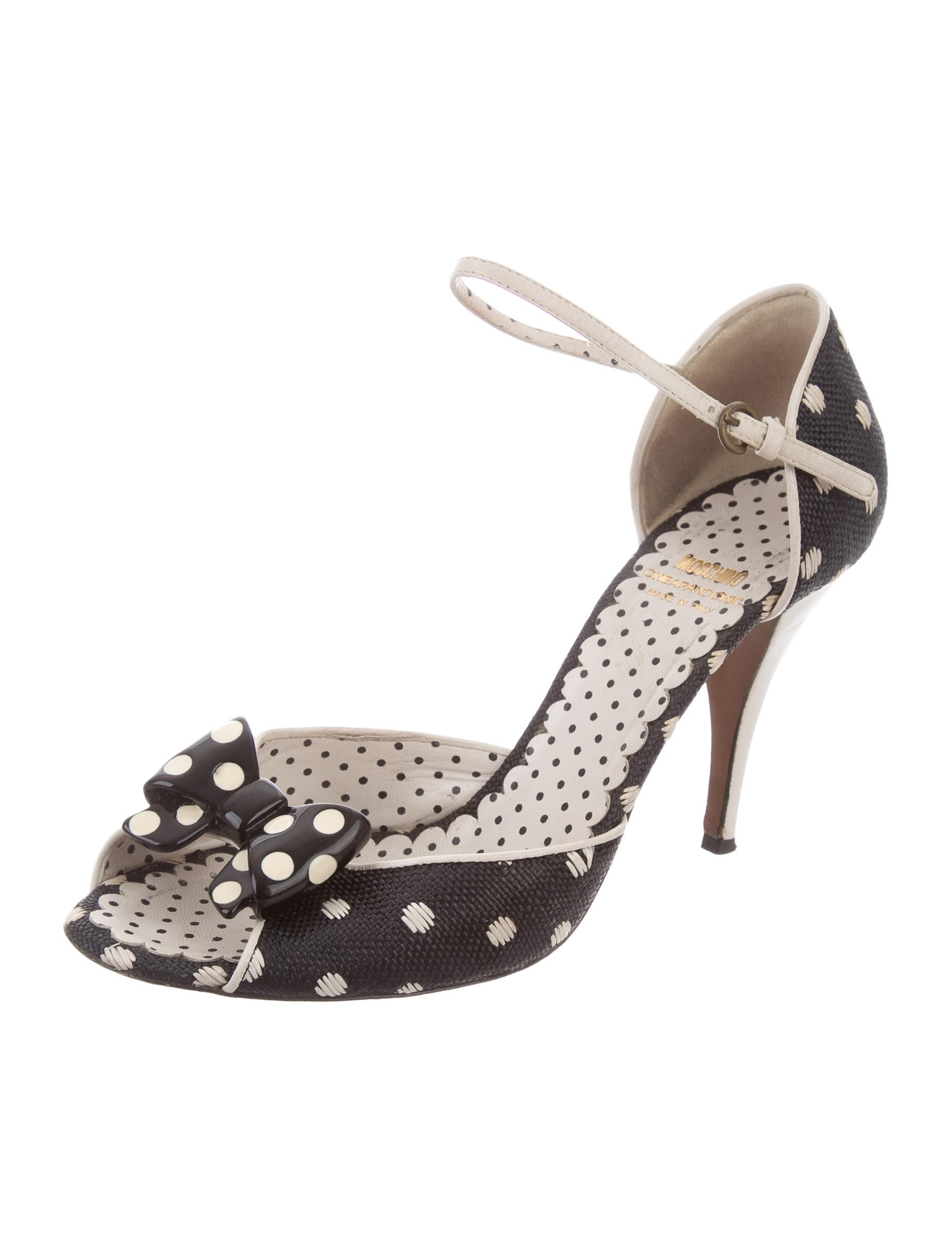 exclusive cheap sale order Moschino Cheap and Chic Woven Bow Pumps from china sale online outlet official site fqy7g