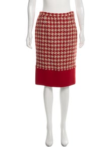 c78a974a20 Moschino Cheap and Chic. Tweed Pencil Skirt