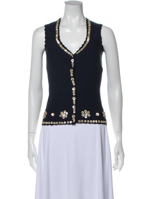 Moschino Cheap and Chic Vest Blue