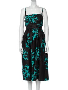 Moschino Cheap and Chic Printed Midi Length Dress w/ Tags