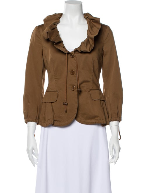 Moschino Cheap and Chic Utility Jacket Brown