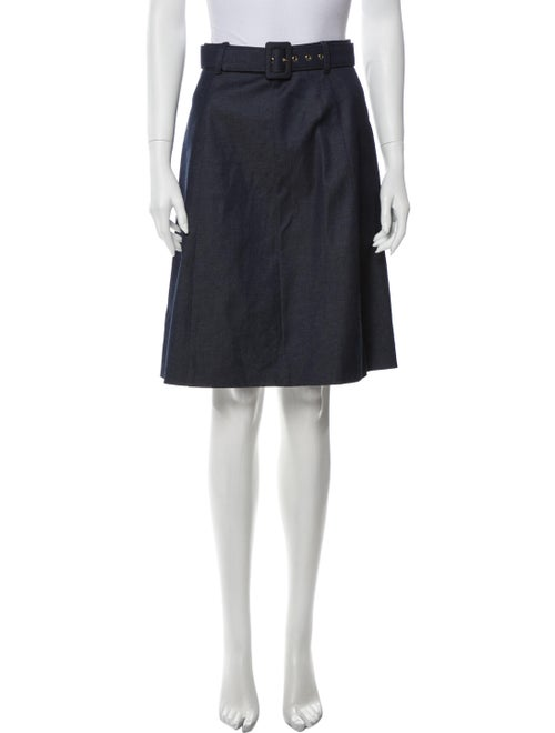 Moschino Cheap and Chic Knee-Length Skirt Blue