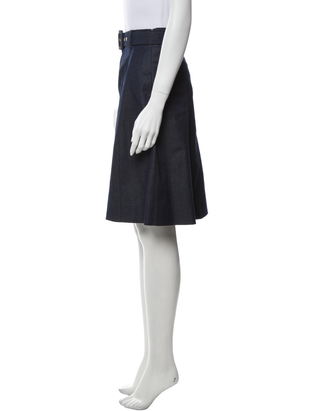 Moschino Cheap and Chic Knee-Length Skirt Blue - image 2