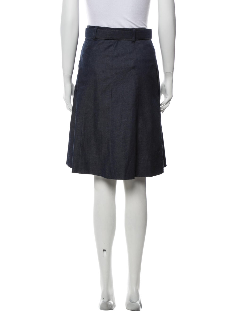 Moschino Cheap and Chic Knee-Length Skirt Blue - image 3