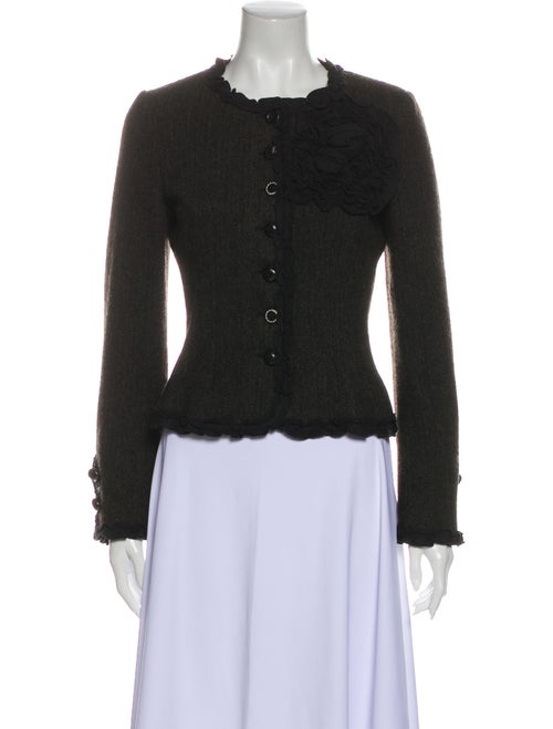 Moschino Cheap and Chic Wool Evening Jacket Wool