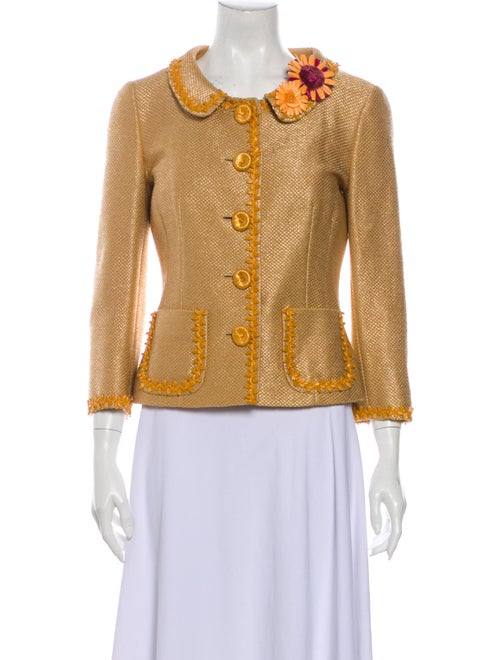 Moschino Cheap and Chic Evening Jacket Gold