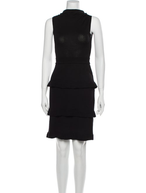 Moschino Cheap and Chic Virgin Wool Mini Dress Woo