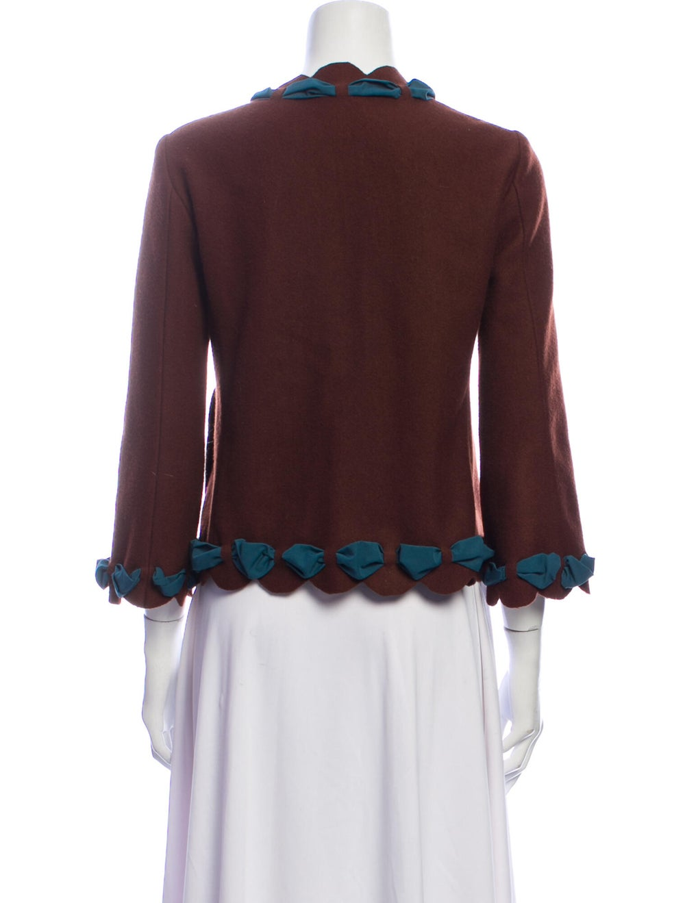 Moschino Cheap and Chic Wool Evening Jacket Wool - image 3