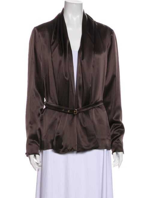 Moschino Cheap and Chic Jacket Brown