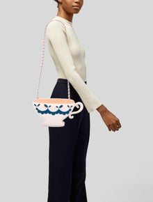 Moschino Cheap and Chic Tea Cup Shoulder Bag