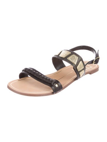 Dolce Vita by  Leather Embellished Sandals
