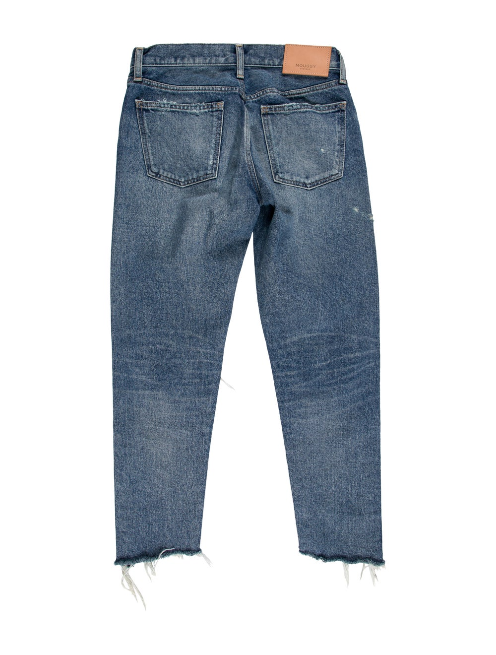 Moussy Mid-Rise Straight Leg Jeans Blue - image 2