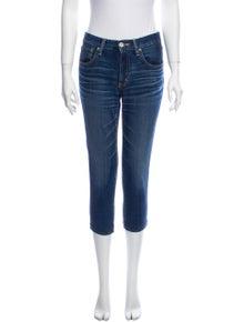 Moussy Mid-Rise Skinny Leg Jeans