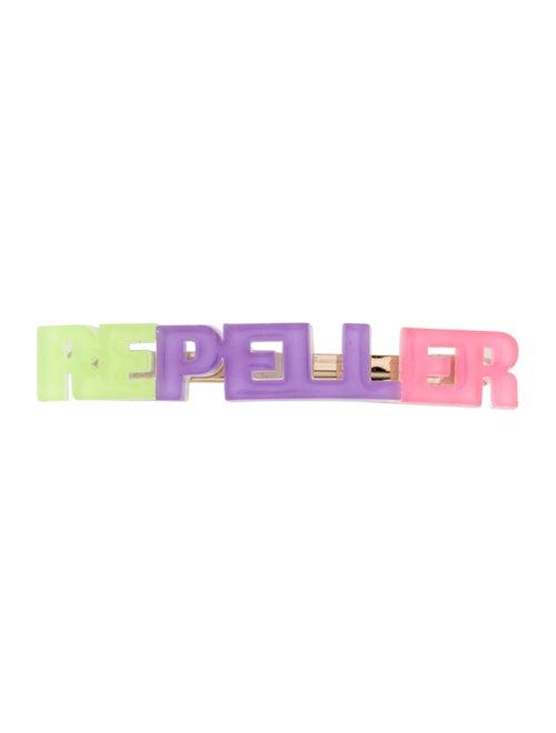 Man Repeller Metal Hairclip Multicolor