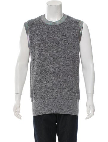 McQ by Alexander McQueen Sleeveless Knit Top w/ Tags None