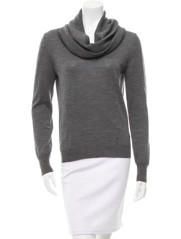 McQ by Alexander McQueen Cowl Neck Wool Sweater None