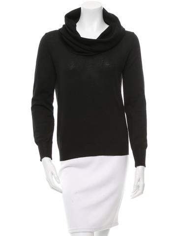 McQ by Alexander McQueen Cowl Neck Wool Top None