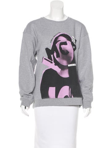 McQ by Alexander McQueen Spring 2015 Graphic Sweater w/ Tags None