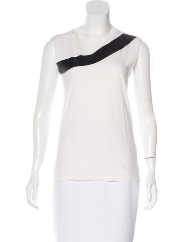 McQ by Alexander McQueen Sleeveless Graphic Top None