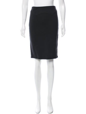 McQ by Alexander McQueen Knee-Length A-Line Skirt None