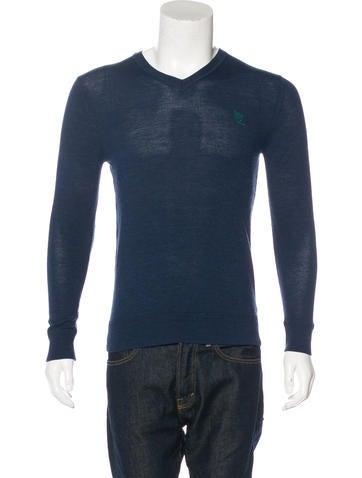 McQ by Alexander McQueen Virgin Wool Sweater None