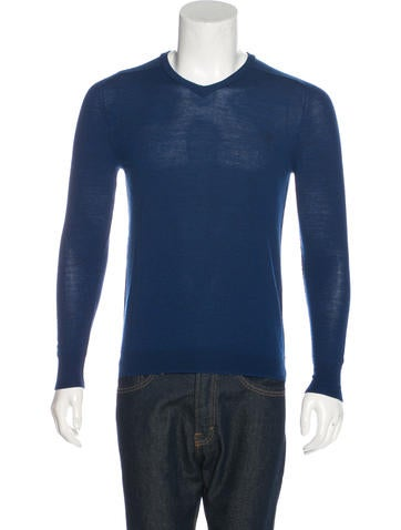 McQ by Alexander McQueen Wool V-Neck Sweater None