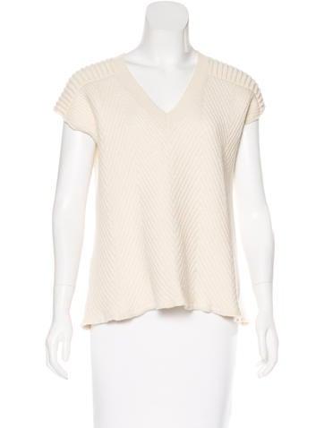McQ by Alexander McQueen Sleeveless Wool Top None