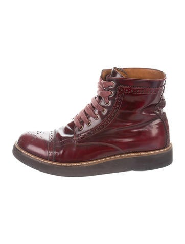 McQ Alexander McQueenlace-up army boots